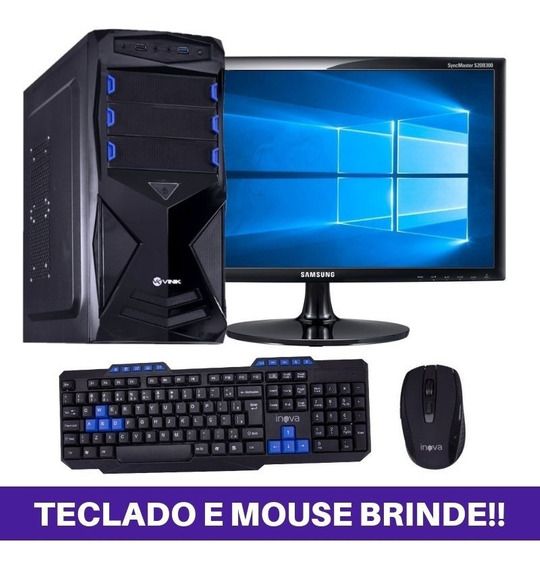 Cpu Gamer Completa Hd500 Placa Vídeo 2gb Mega Oferta