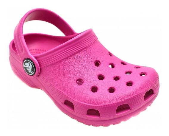 Babuche Crocs Menina Rosa X10006