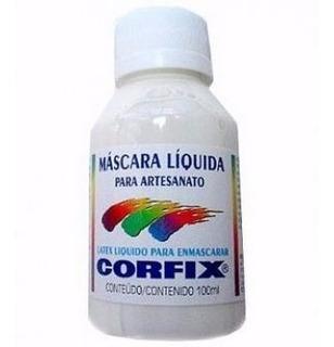 8 X Mascara Liquida Para Artesanato Corfix *frete+barato*