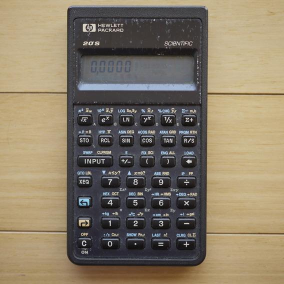 Calculadora Científica Hp 20s