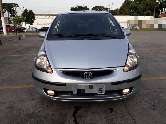 Honda Fit Lxl 1.4 Automático Prata 5portas