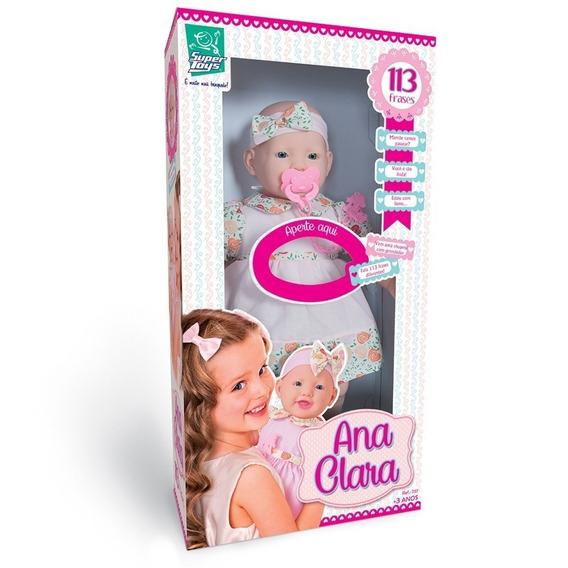 Boneca Ana Clara 113 Frases - Super Toys