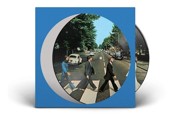 The Beatles Abbey Road Anniversary Vinilo Picture Disc Nuevo