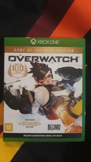 Overwatch Para Xbox One (mídia Física)