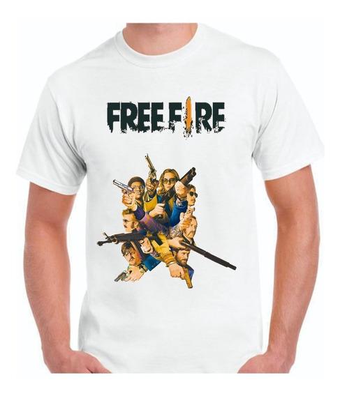 Remera Free Fire - Video Juego