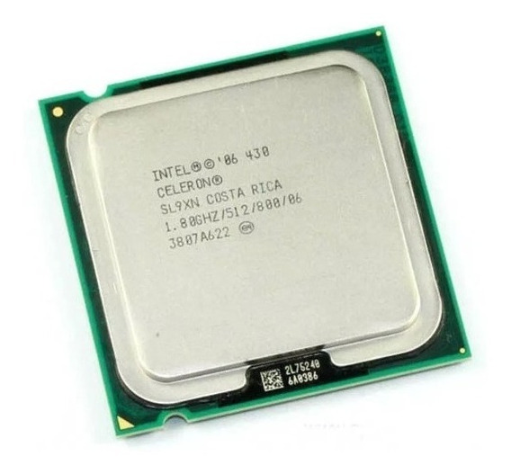 Processador Intel Celeron 430 1.8ghz/800/1mb Lga775 Oem