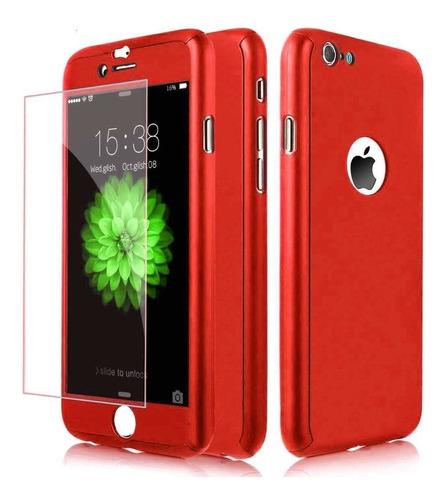Protector 360º Full Case + Vidrio Para iPhone 5 / 5s