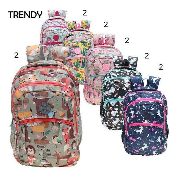 Mochila Infantil Trendy