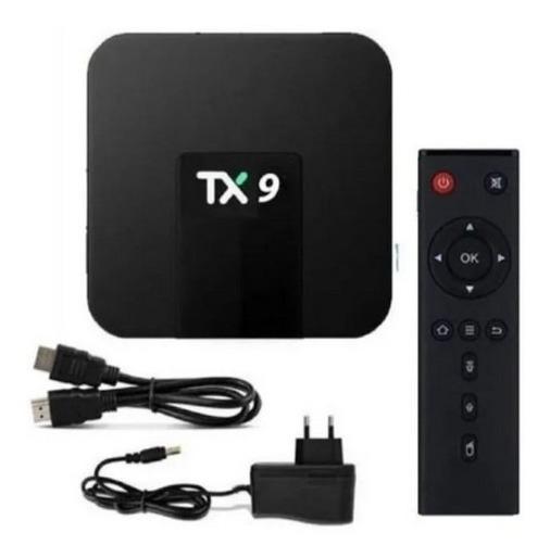 Tv Box Tx9 - Sua Tv Com Netflix, Youtube, Play Store, App