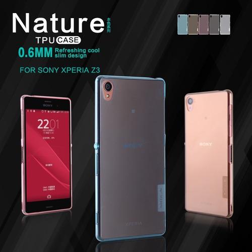 Case Protector Silicona Nillkin: Nature Sony Z3