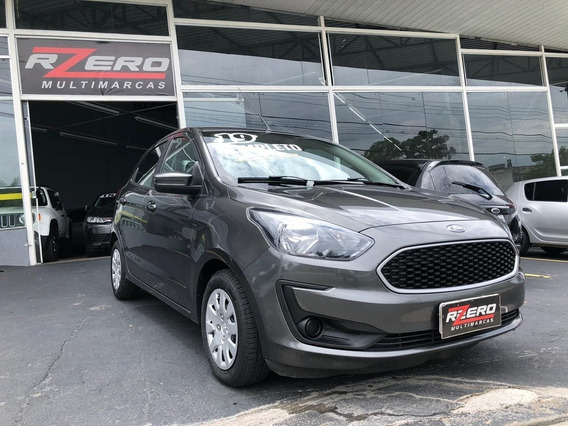 Ford Ka Hatch 2019 Completo 1.0 Flex 18.000 Km Revisado Novo