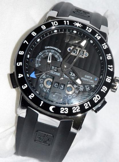 Relógio Ulysse Nardin Executive El Toro Gmt Perpetual