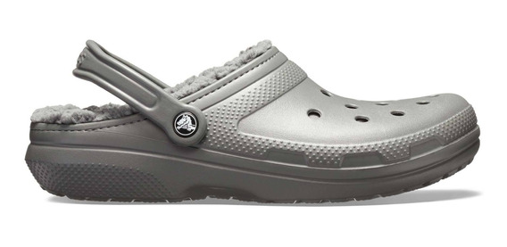 Crocs Classic Lined Clog Gris Hombre Mujer