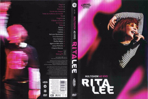 Lee Rita - Multishow Ao Vivo Dvd - E