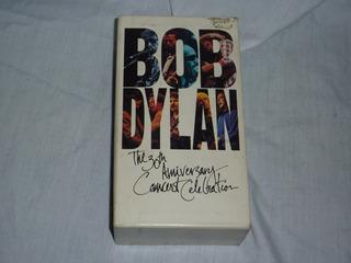 Bob Dylan The 30th Anniversary Concert Box Doble Vhs