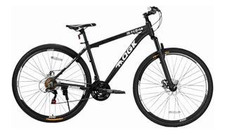 Bicicleta Aro 29 Freio A Disco 21 Vel Câmbio Shimano Preto/branco Qgk B29 Qgkmtb001-03