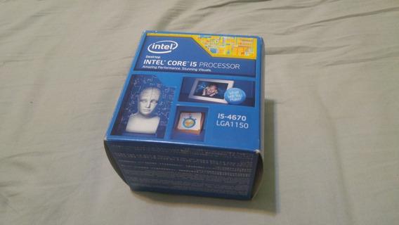 Processador I5 4670 + Caixa E Cooler Box. Haswell 4a Ger