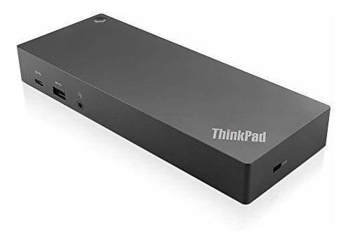 Imagen 1 de 5 de Adaptador Thinkpad Hybrid Usb-c Con Usb-a Dock Us Lenovo