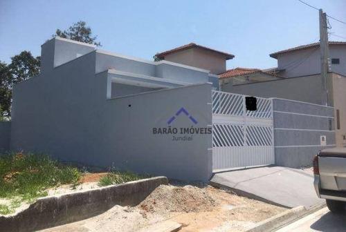 Casa Com 3 Dormitórios À Venda, 84 M² Por R$ 456.000,00 - Medeiros - Jundiaí/sp - Ca0763