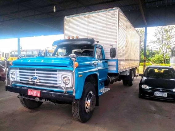 Caminhão Ford F-11000 Baú C 7m L 2,40 A 2,40 Motor Mwm 229