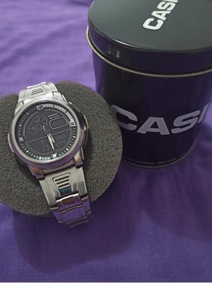 Relógio Casio Anadigi Aqf 102w