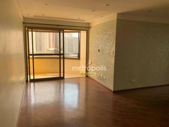 Apartamento Com 3 Dormitórios Para Alugar, 118 M² Por R$ 0/mês - Santa Paula - São Caetano Do Sul/sp - Ap2789