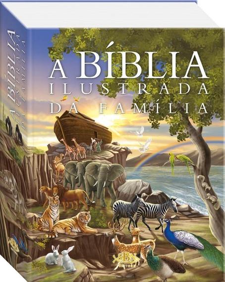 Bíblia Ilustrada Da Família - Infantil Capa Dura + Brinde