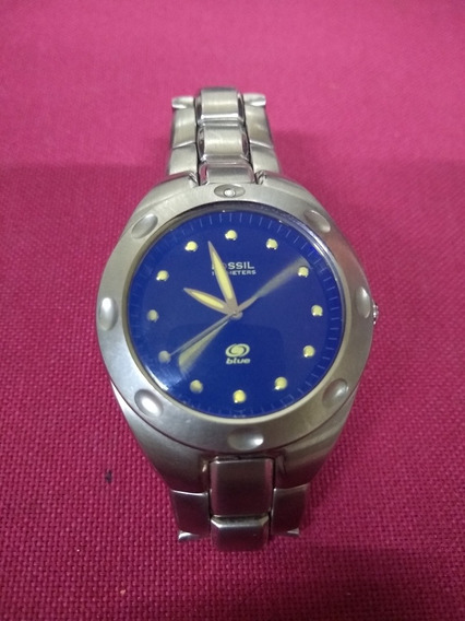 Reloj Fossil Blue De Acero
