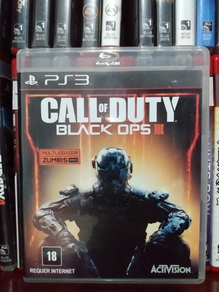 Call Of Duty Black Ops 3 Original Ps3 Parcelamento Sem Juros