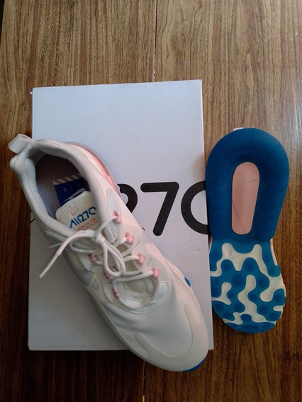 air max 270 blanco y azul