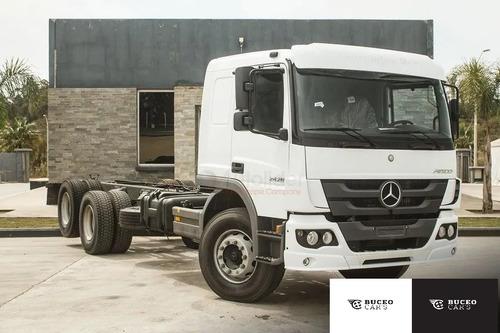 Mercedes-benz Atego 2428 Techo Bajo 6x2 Año 2021 - 0km!!!