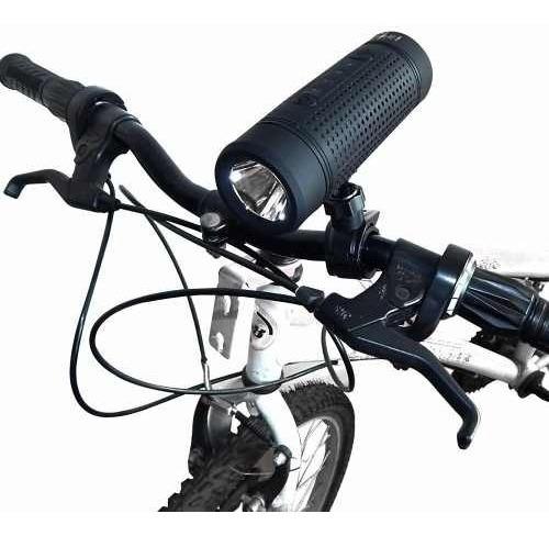 Caixa De Som Speaker Bluetooth P/ Bikes Com Farol