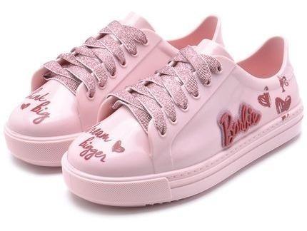Tenis Barbie Infantil Menina Rosa