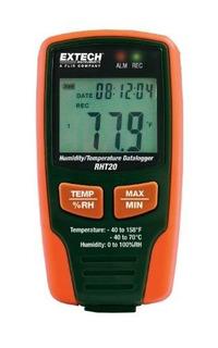 Registrador De Datos De Humedad Y Temperatura Extech Rht20
