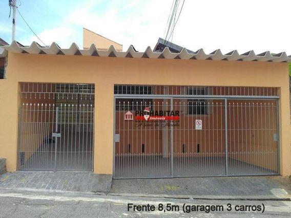 Casa Com 3 Dormitórios À Venda, 235 M² Por R$ 520.000 - Vila Constança - São Paulo/sp - Ca3105