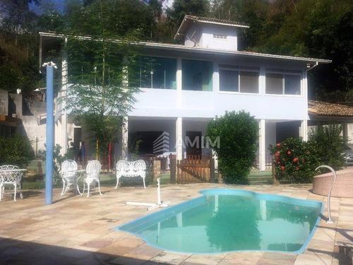 Imagem 1 de 30 de Excelente Casa Com 3 Dormitórios À Venda, 680 M² Por R$ 1.200.000 - Maria Paula - São Gonçalo/rj - Ca0077