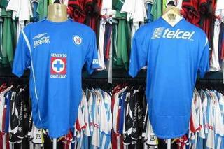 Cruz Azul 2007 Camisa Titular Tamanho G.