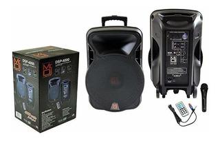 Parlante Mr. Dj Dsp-4000 15 2 Way Portable Bluetooth Fm Radi