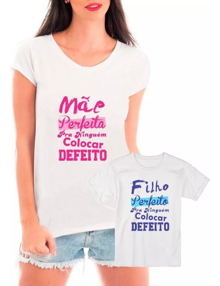 Roupas De Mae E Filha Com Frases Camisetas Blusas Calçados