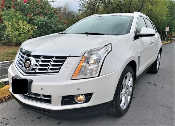 Cadillac Srx 4 Premium Piel Y Quemacocos Gps Un Dueño
