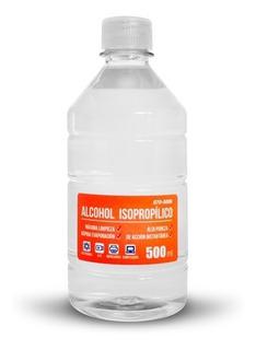 Alcohol Isopropilico En Botella 500cc 1/2 Medio Litro Full