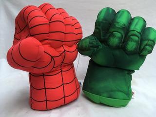 Peluche Super Puño Hulk Spiderman Capitan America 30 Cm