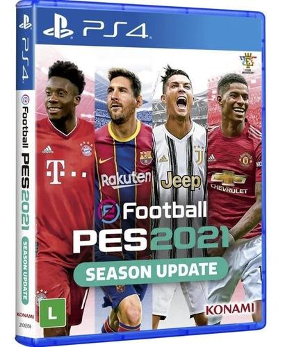 Pes 2021 Efootbal Pro Evolution Soccer 2021 Ps4 Midia Fisica