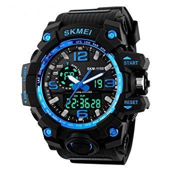 Relógio Skmei Original 1155 Azul Prova D