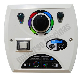 Comando Driver Four Fix Para Led Com Wi-fi 81 W Sodramar