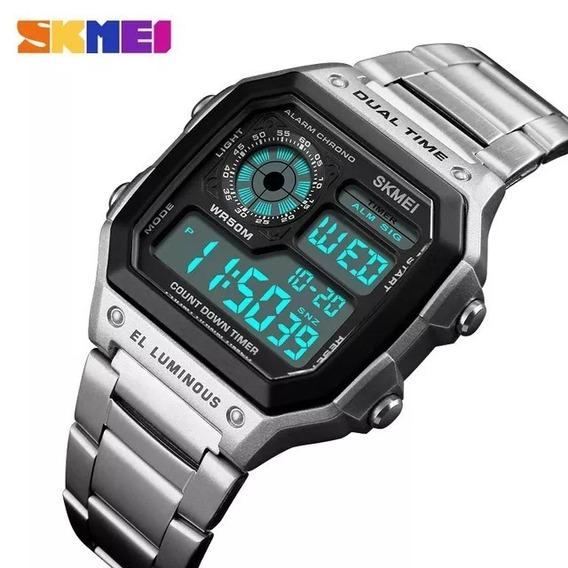 Relógio Masculino Skmei Original+(caixinha Brinde) Presente