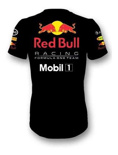 Camiseta Red Bull Racing Team F1 Astom Honda Camisa Am.006