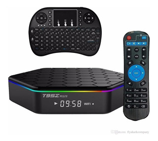 Smart Tv Box T95z Plus 3gb 32gb+ Mini Teclado Inalámb. Nueva