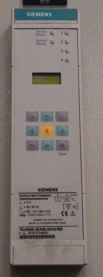 Relé De Proteção Siemens 7sj6005