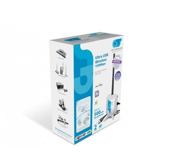 Adaptadores Wireless Ultra Usb 150mbps C/ Antena 7dbi